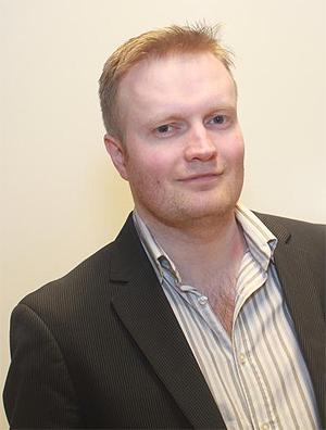 Øystein Jacobsen er leder for Piratpartiet. Foto: Piratpartiet.