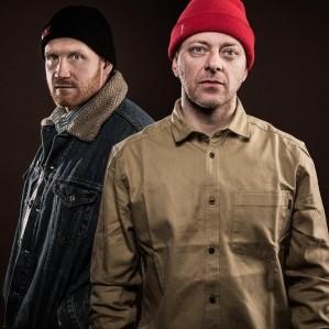 Tommy Tee og DJ Herkules feirer 20 år på lufta. (Foto: Kim Erlandsen, NRK P3)