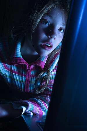 YouTube er ingen god barnevakt, mener Fett-redaktøren. Illustrasjonsfoto: Colourbox.com.