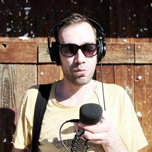 Ruben Gran oppsummerer musikkåret 2013. (Foto: Tom Øverlie, NRK P3)
