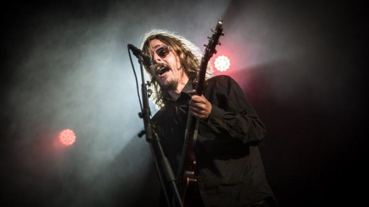 Opeth på Slottsfjell. (Foto: Erlend Lånke Solbu, NRKP3)