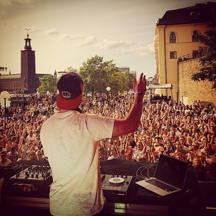 Kygo i Stockholm 10. august (@kygomusic/Instagram)