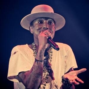 Pharrell Williams spilte konsert i Oslo på søndag. (Foto: Tom Øverlie, NRK P3)