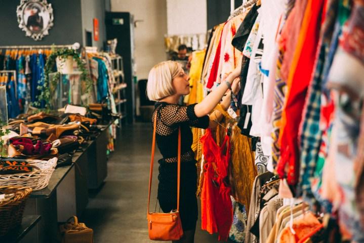 Aurora elsker vintage klær