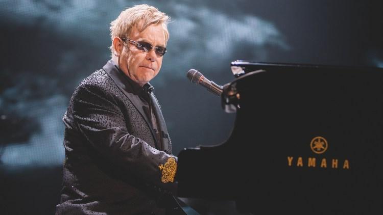 Sir Elton John, Oslo Spektrum, Oslo 2014. Foto: Kim Erlandsen, NRK P3.