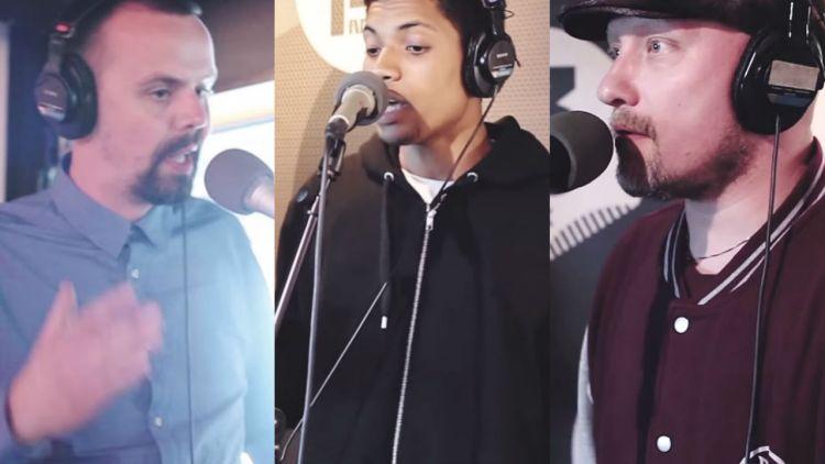 Mae, Oscar Blesson og Son of Light hos Ruben. Skjemdump, YouTube