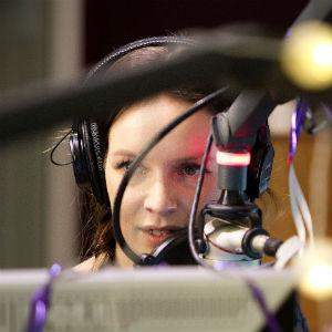 P3-programleder Christine Dancke. Foto: NRK P3