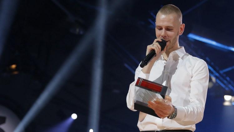 Lars Vaular,  P3 Gull 2015. Foto: Tom Øverlie, NRK P3