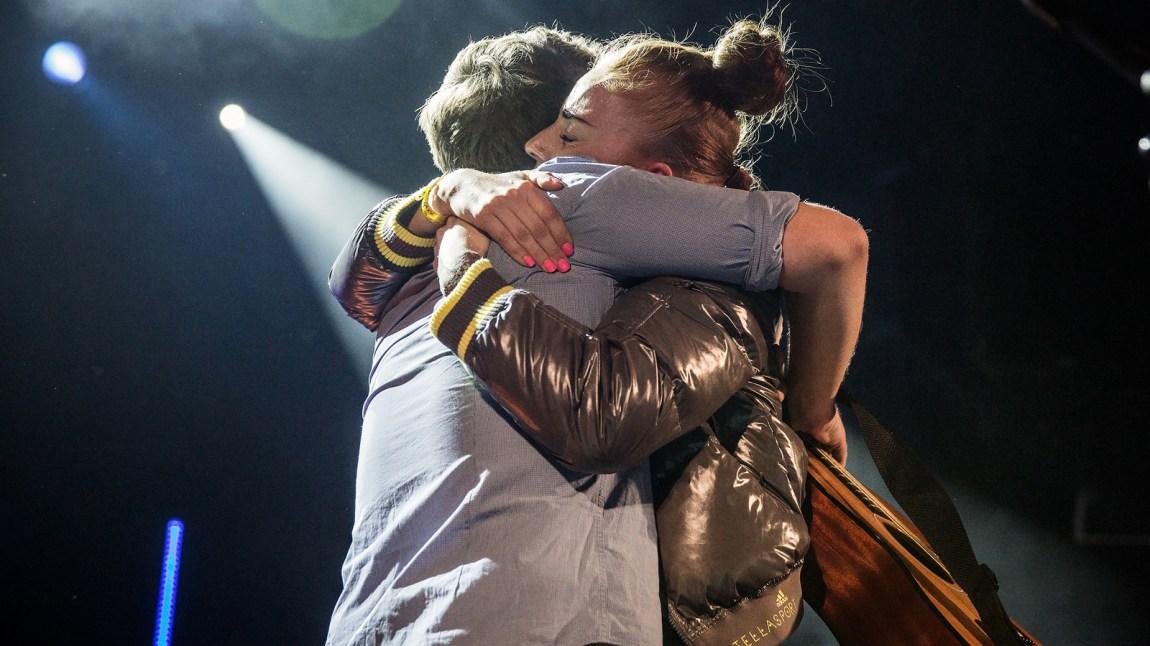 Kristian Kristensen og Gabrielle på Christine Live på Rockefelller. Foto: Kim Erlandsen, NRK P3