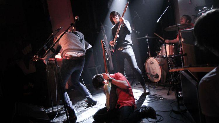 Death By Unga Bunga mener at Ramones gjorde rock kult igjen. Foto: Mattis Folkestad, NRK P3