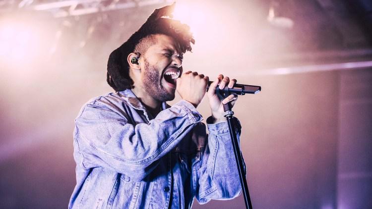 The Weeknd har leid huset til Kristian Valen i et helt år. Foto: NRK P3.