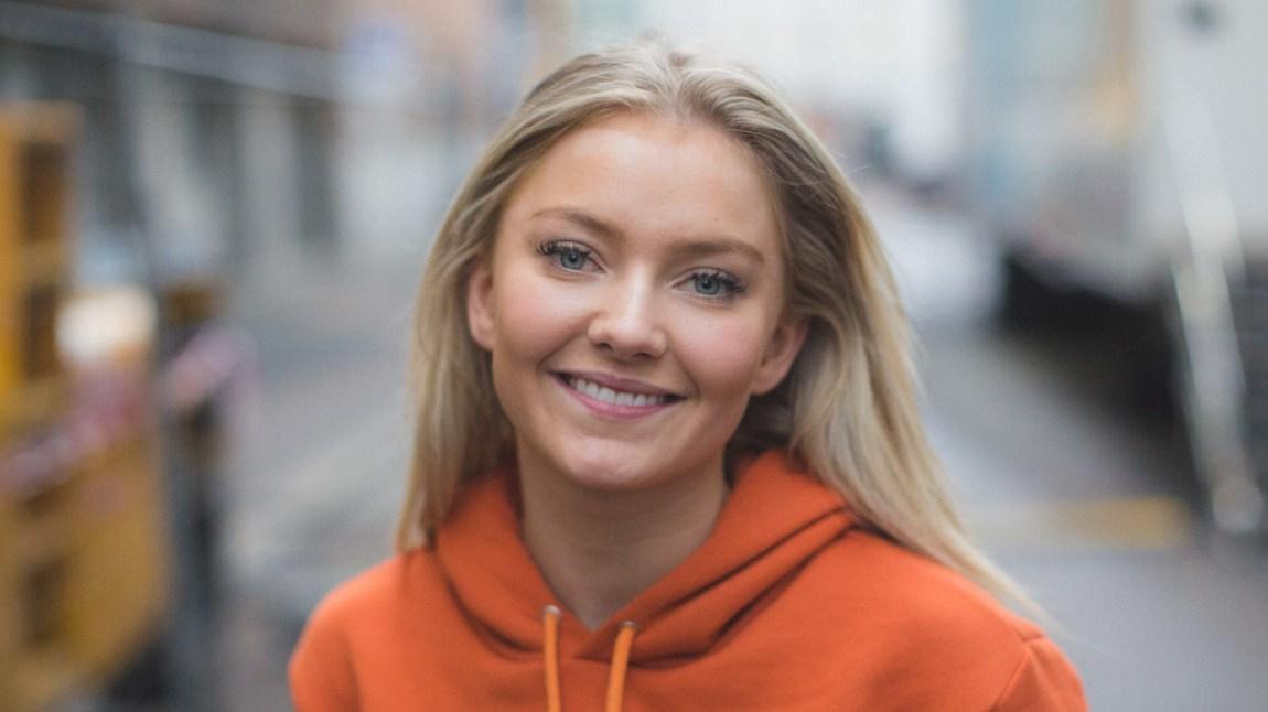 """CLMD fikk stjernehjelp av Astrid S på låta """"Dust"""". Foto: Mattis Folkestad, NRK P3"""