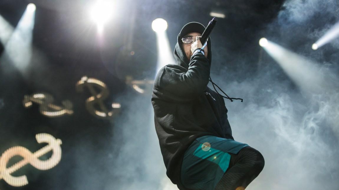 Mac Miller på Kongescenen på Slottsfjell. Foto: Rashid Akrim, NRK P3