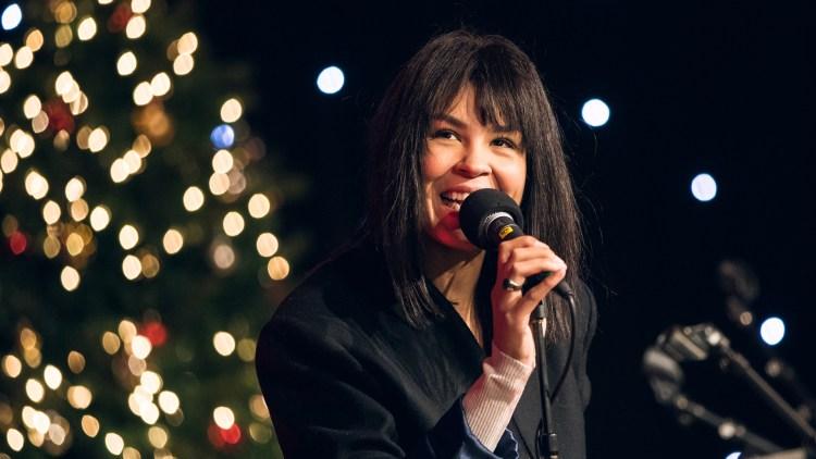 VANT OVERLEGENT: Maria Mena - «Home for christmas» er kåret til 2010-tallet beste julesang av leserne av P3.no og NRK.no. Foto: Tom Øverlie, NRK P3