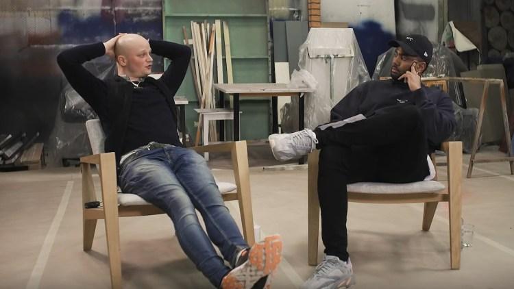 I SAMTALE: KingSkurkOne i prat med P3X-programleder Abiel Tesfai. Skjermdump, NRK P3