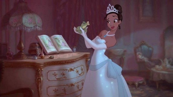 "Frosken og Tiana i ""Prinsessen og frosken"" (Foto/Copyright: Walt Disney Studios Motion Pictures Norway)."