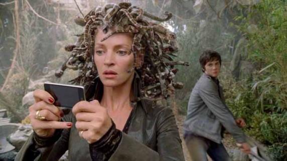 """Uma Thurman i """"Percy Jackson og lyntyven"""" (Foto/Copyright: 2oth Century Fox)."""