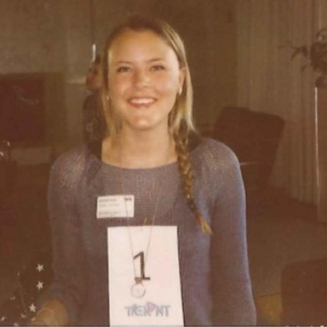 Marie Kinge er en av programlederne i Trekant på NRK3. (Foto: NRK)