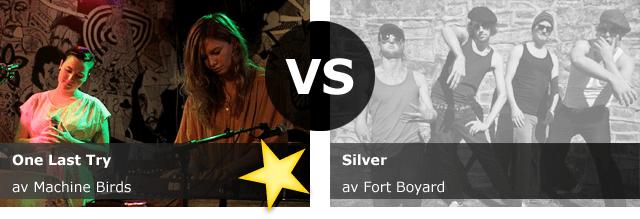 Machine Birds vant duellen mot Fort Boyard og er i Urørtfinalen 2011!