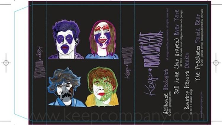 Animal Collective er et av bandene som gir ut låter på kassett. (Foto: Keep Company)