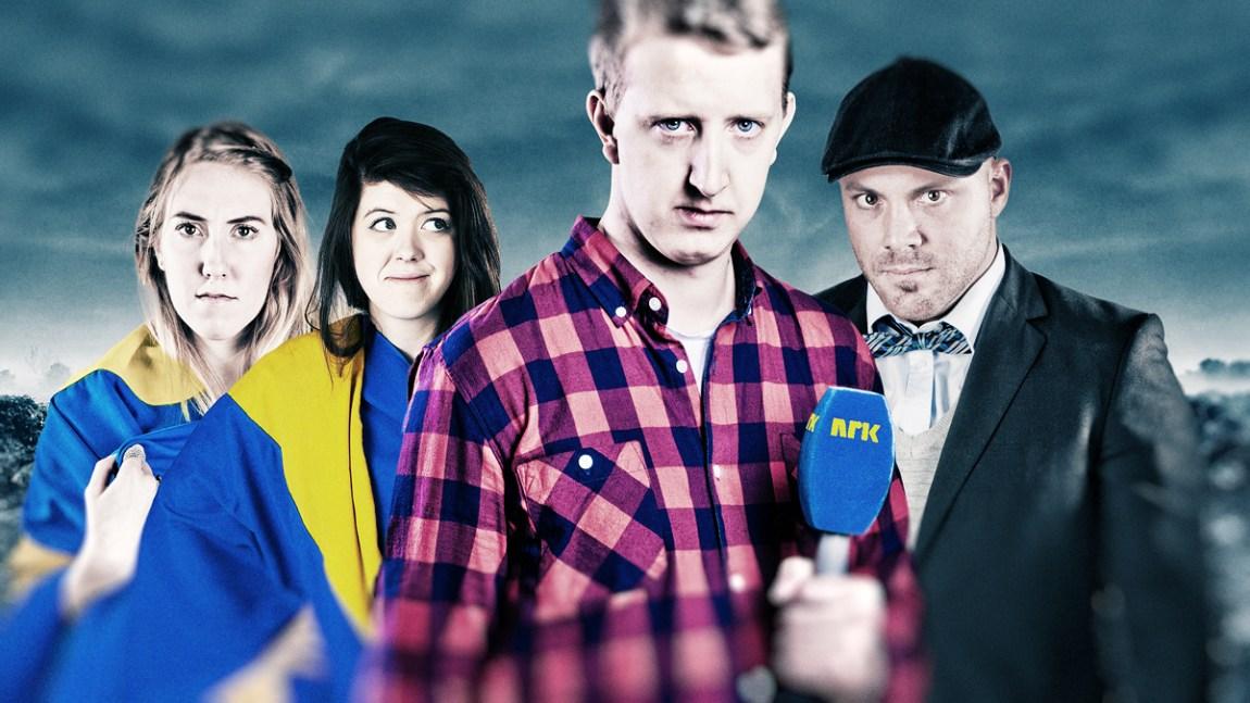 Svensker er Mennesker. (Foto: Kim Erlandsen, NRK P3)
