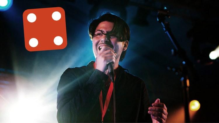 Jamie Woon i Teltet på Hovefestivalen 2011. (Foto: Tom Øverlie, NRK P3)