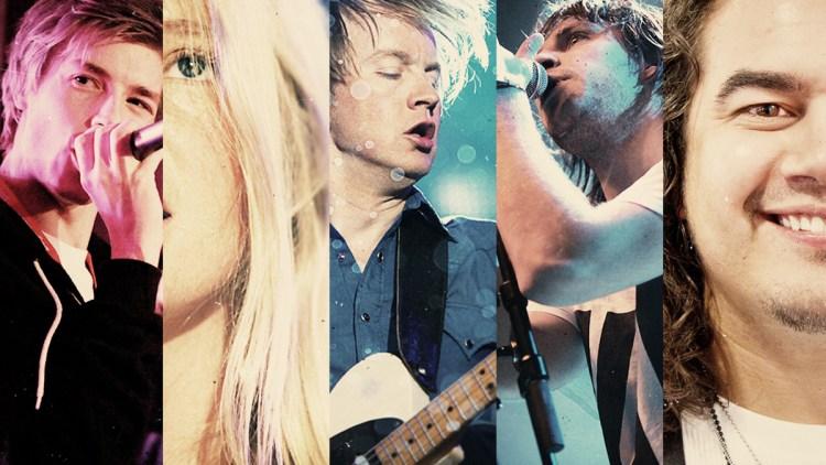 Dette er noen av artistene du kan oppleve under VGlista Topp 20 (Foto: NRK)