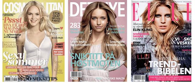 b16767fd Retusjering av hud, hår og sminke er en selvfølge i dagens magasin-bransje.  Blogger Linnéa Myhre er en av de som var svært misfornøyd med hvordan hun  endte ...