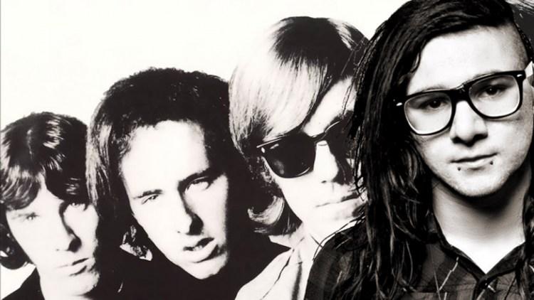 Skrillex + The Doors. (Foto: Promo)