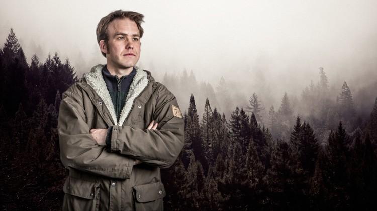Kristoffer Reinsfelt Arnesen, programleder i Utkant (Foto: Kim Erlandsen, NRK P3)