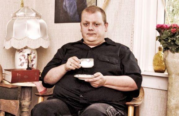 """Rune Nilson under innspillingen av """"Ikke gjør dette hjemme"""" (Foto: NRK)"""