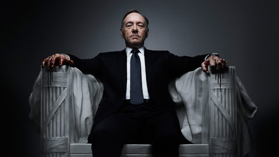 Kevin Spacey i House of Cards. (Foto: Netflix).