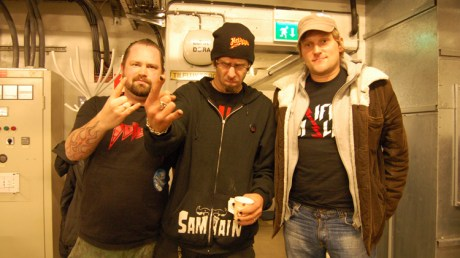 Pyro med Randy Blythe fra Lamb of God. (Foto: Pyro)
