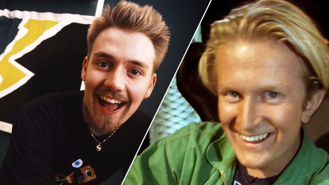 Howard (til venstre) og H.C back in the days. Foto: NRK.