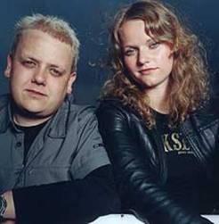 Rune og Siri i Lydverket. (Foto: NRK).