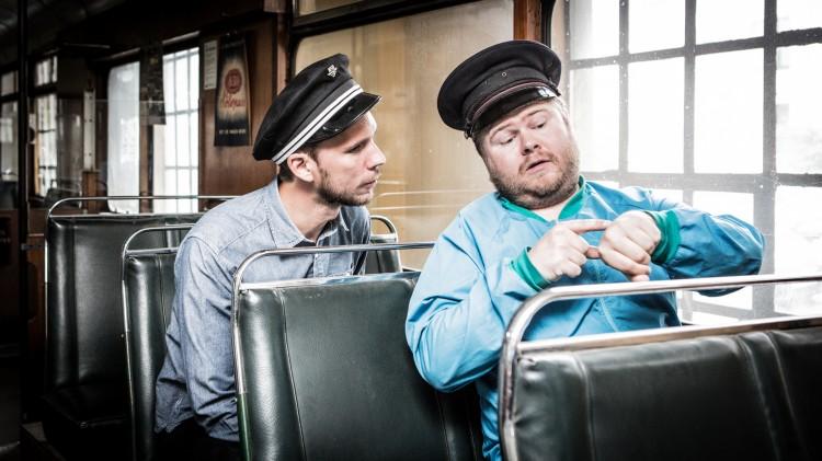 Ken og Torkil Risan, her med programmet Morratoget (Foto: NRK)