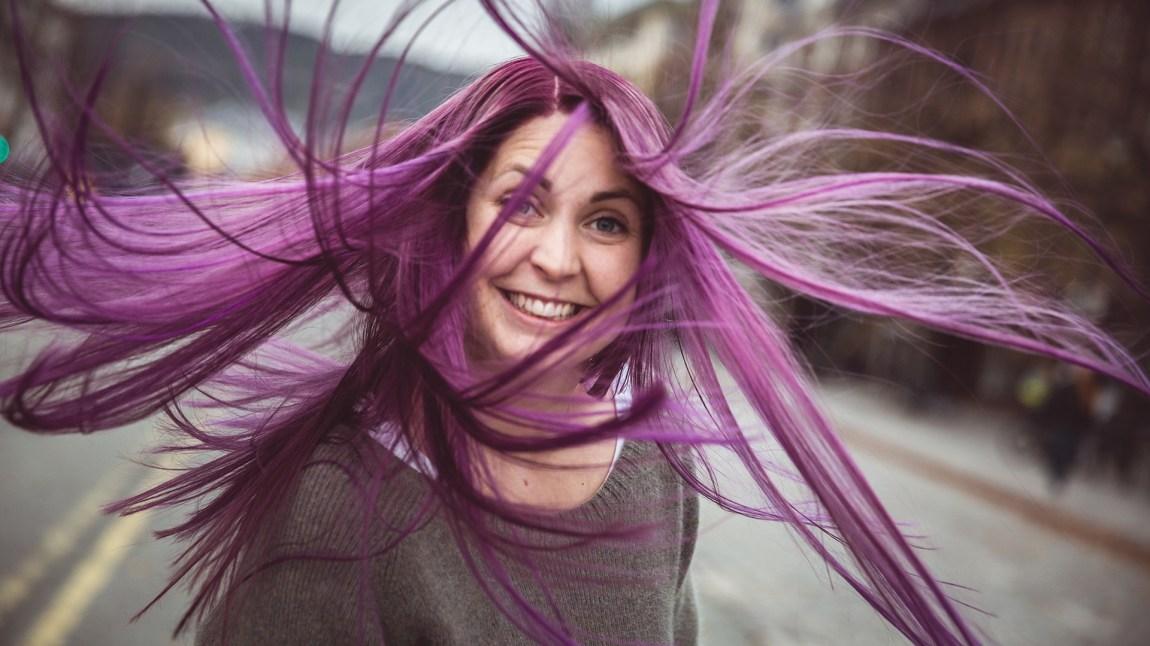 Silje sitt nye hår! Foto: Jonas Jeremiassen Tomter