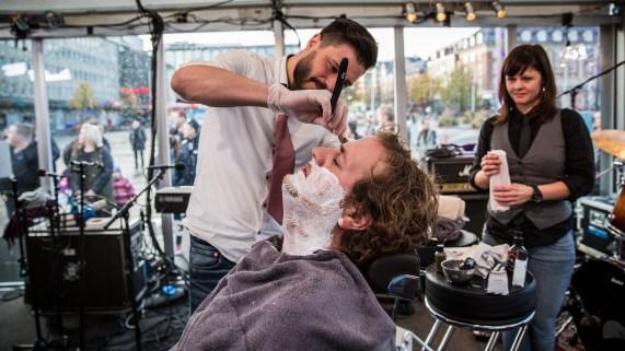 Ronny mister skjegget! Foto: Jonas Jeremiassen Tomter, NRK P3