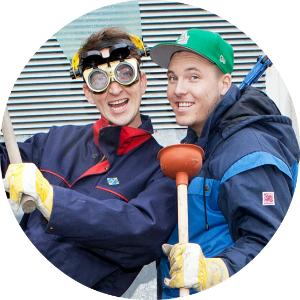 Mathias og Niklas i Verdens Rikeste Land gjør jobben for deg!