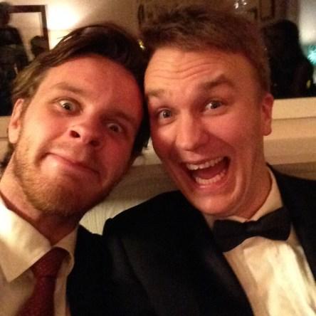 Martin og Ola. (Foto: Privat)