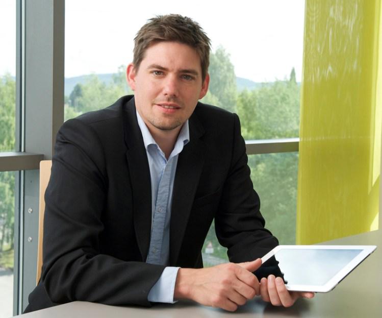 Hans Marius Tessem, leder for nettstedet slettmeg.no. Foto: Pressefoto, slettmeg.no.