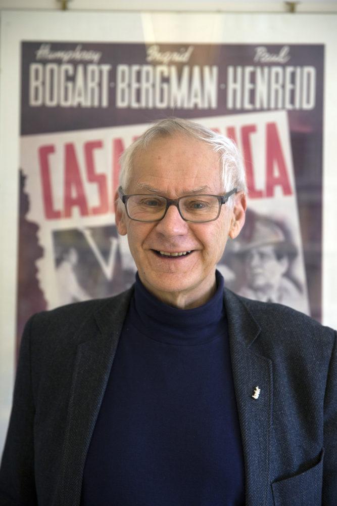 Filmviter Bjørn Sørenssen tror særlig mange amerikanere vil ha stor glede av filmmusikalen  «La la land» akkurat nå.  Foto: Kjersti Havdal