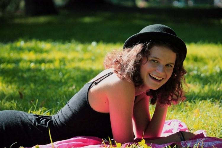 """Camilla Riccadonna har skrive hundrevis av sider om """"SKAM"""". Foto: Privat."""