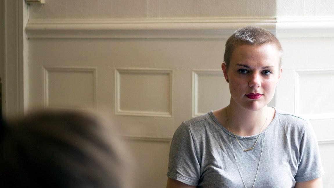 Ida Maria Brennhaugen. Foto: Line Orfjell, NRK P3