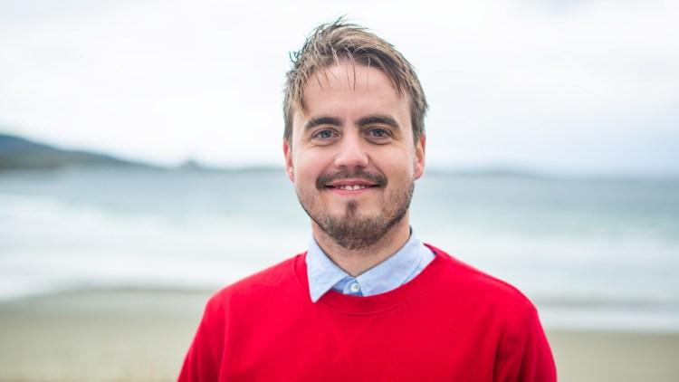 MED VERDENS BESTE KOLLEGAER: – Det kommer til å ta lang tid å fordøye alt, sier Markus. Foto: Tom Øverlie, NRK P3