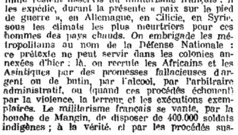 Bull comm fév 1922 Colonies (2)