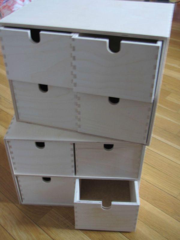 Ikea Rangement Tiroir Bureau