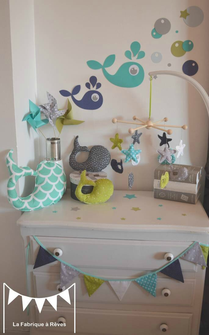 decoration chambre enfant bebe garcon