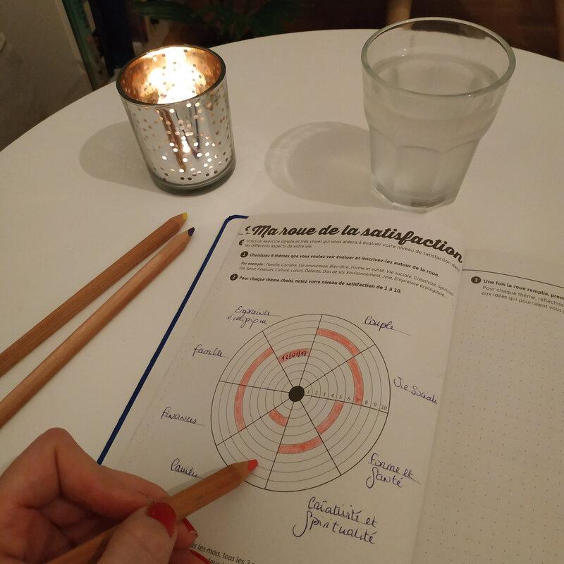 Roue de satisfaction - My agenda 365
