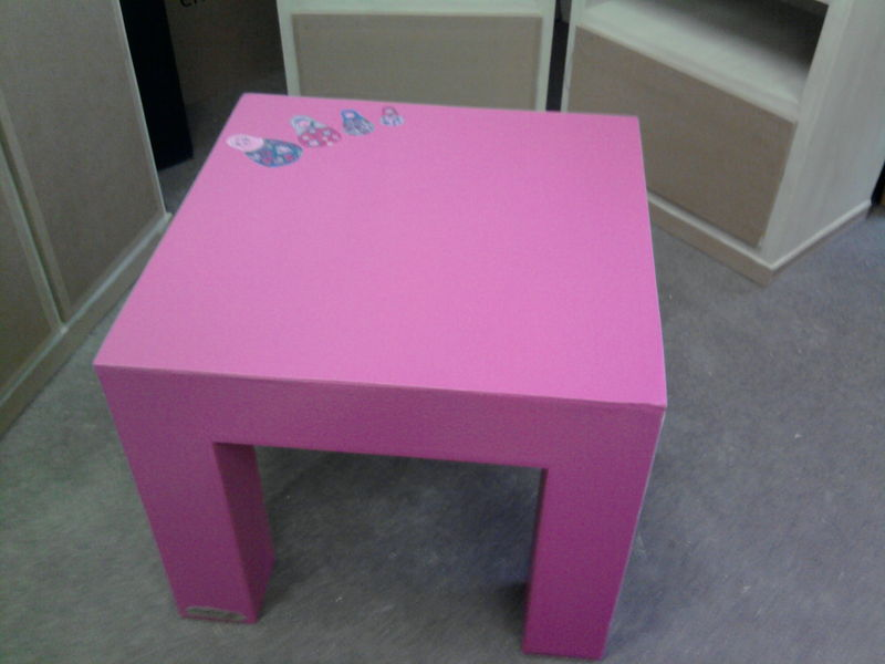 une nouvelle table basse pour enfant